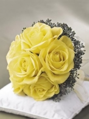 Lemon Rose Bridal Posy