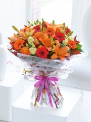 Extra Large Happy Birthday Glorious Shades Hand-Tied